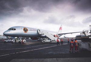 Este es el avión que utiliza la banda