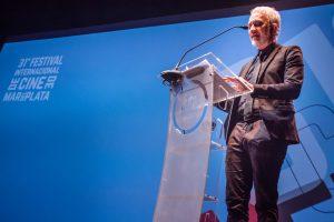 Andy Kusnetzoff fue el conductor de la apertura (Foto Fabricio Reyna)