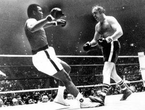 Wepner derriba a Ali e inspira a Stallone