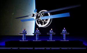 Kraftwerk tocó en el país por cuarta vez