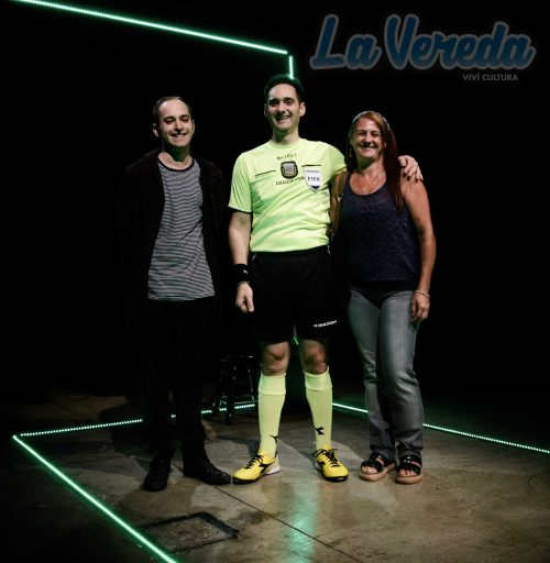 Drechsler, Aguayo y Silvana Madorrán